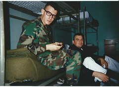 picture i took of some friends in the army. 1995 (timp37) Tags: army virginia 1995