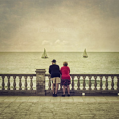 Watching the Sea (s a s h i) Tags: seaside spain sitges sashi alexarnaoudov