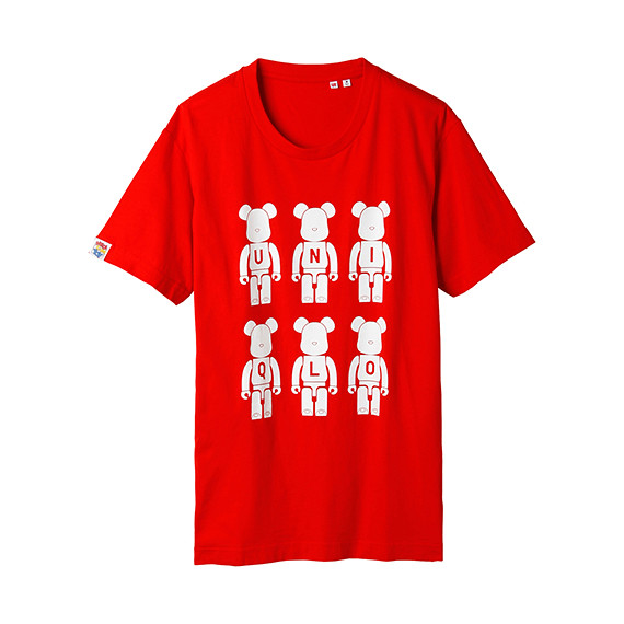 BE@RBRICK X UNIQLO T恤商品