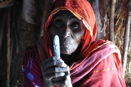 70-year old Kadiga in Afar