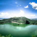 Lake Taal near Tagaytay in the Philippines