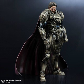 PLAY ARTS改 Man of Steel Jor-El 喬艾爾