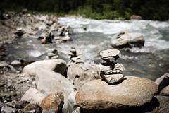 Stone pile. (Markus Moning) Tags: nature water rock stone canon river eos sterreich wasser mark iii natur pile 5d fels fluss stein moning oesterreich vorarlberg silbertal haufen steinhaufen markusmoning silbertall