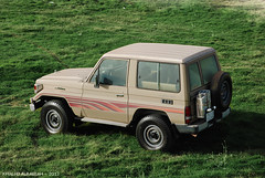 TOYOTA 2001 (khalid alrabiah) Tags: car 4x4 toyota landcruiser جي نيسان شقراء تويوتا نصب ربع لاندكروزر ستيشن ستاندر