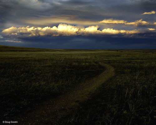 Photo - Dramatic clouds over the praire at OSMP's Southern Grasslands Habitat Conservation Area.