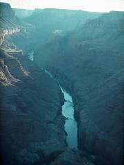 Colorado River, Grand Canyon, from aircraft, July 1979 (Nikonfan1346) Tags: grandcanyon