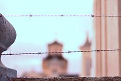 (dehrga) Tags: muro cemetery wall cemitrio barbwire arame farpado