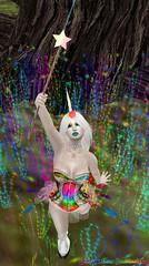Rainbow Fairy God-Unicorn (Dragon Fang) Tags: void aisling epic pinsneedles ploom ellabella cstar deviousmind aliceproject pinkfuel blacklacebeauty cstarlimited tastetherainbowhunt