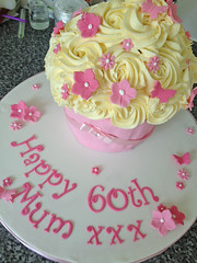 60th Giant Cupcake