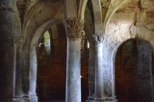Memleben (Saxe-Anhalt), crypte de l'abbatiale - 07