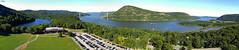 US-NY Bear Mountain - Hudson River 2013-09-08 (N-Blueion) Tags: panorama newyork kap kiteaerialphotography