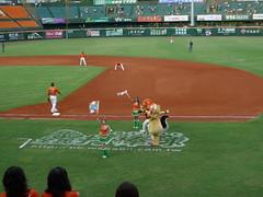 P1000680 (celeste_mer) Tags: 棒球 台南棒球場 2009年