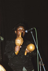 Linos Wengara from Zimbabwe Shona Mbira Player at the Africa Centre London 2002 024 (photographer695) Tags: linos wengara from zimbabwe shona mbira player africa centre london 2002