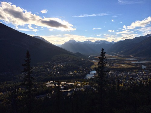 Blick auf Banff