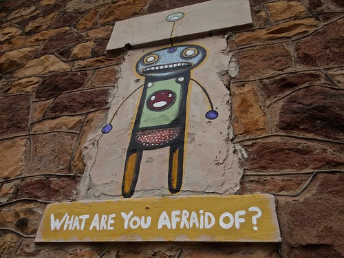 Photo - What are you afraid of?