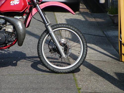 honda offroad motorcycle crm50