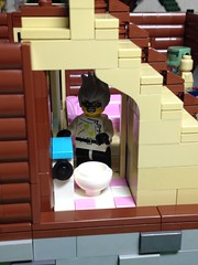 Log house 9 (Dr.Peisan) Tags: house building log lego restroom