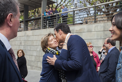 Visita de Pedro Sánchez a l'Àrea Metropolitana
