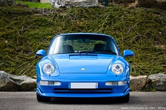 Blue Riviera Porsche 911 993 Carrera RS - Porsche Francorchamps Days 2015 (Rmy | www.chtiphotocar.com) Tags: blue 6 photo nikon riviera flat stuttgart 911 sigma days ferdinand porsche legend spa rs supercar sportscar carrera lightroom 993 aircooled francorchamps 2015