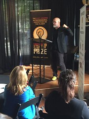 """@LaStartupPrize """"Organize in, organize out."""" Stay organized from the beginning. Get beyond the passion."""
