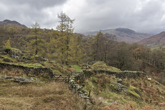 View west from near Stang End, Little Langdale, Lake District National Park