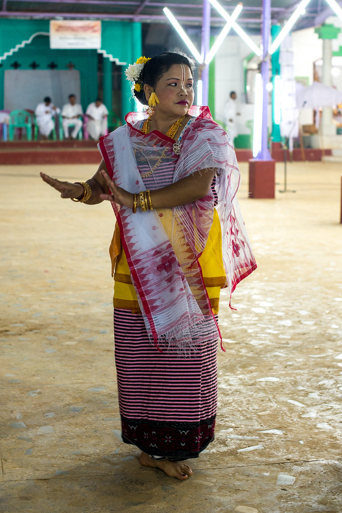 Traditional Manipuri dancing