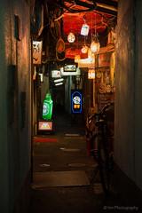 Ro-ji (HIROSHI MACHIDA) Tags: light alley kyoto downtown   pontocho kiyamachi roji
