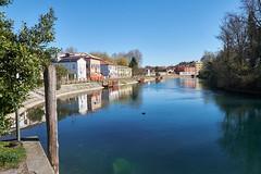 GiraSole/E4 - mit dem Rad dem Sile entlang Richtung Lagune (macplatti) Tags: italien ita treviso veneto
