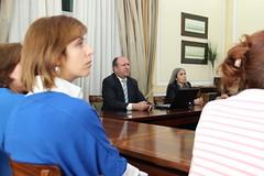 Militantes de Oliveira de Azeméis em visita à Sede Nacional