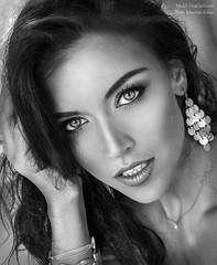 bw portrait (Sebastian Köhler) Tags: light blackandwhite hot sexy beautiful beauty face model eyes sebastian natural gina lips carla beauiful koehler köhler ginacarla