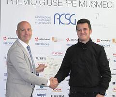 Silverio Gaspani con Andrea Tuscano