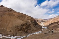 Frozen River - Ladakh, India (ChetanRana) Tags: mountains mountainscape roughmountains ladakh leh landscape bestlandscape riversofindia rivers roughroads wintersinhimalayas himalayas winters