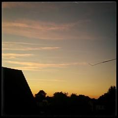 sundown (noisy__nisroc) Tags: sky clouds instagram mobil