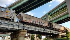 D30 (BLACK VOMIT) Tags: graffiti d30 dirtythirty dirty thirty crew aest aest2 wyse coal car coalie freight train