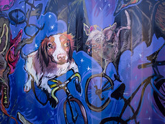 All good dogs ride bicycles (Stv.) Tags: aroundtown mountpleasant mural muralfest publicart vmf2016 vancouver britishcolumbia canada exif:lens=olympusm17mmf18 exif:make=olympusimagingcorp geo:lat=49263300740252 geo:lon=12310141346588 geo:country=canada geo:state=britishcolumbia camera:model=em5 exif:aperture=ƒ18 geo:city=vancouver exif:isospeed=200 camera:make=olympusimagingcorp geolocation exif:focallength=17mm exif:model=em5