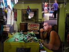 Havana. Cuba (H.L.Tam) Tags: cuban photodocumentary street streetphotography iphoneography harbana iphone6s cubasketchbook watchrepair documentary havana habanavieja cuba iphone