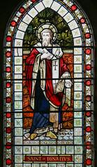 St Ignatius of Antioch (Lawrence OP) Tags: ignatius saints stgiles anglocatholic church cambridge stainedglass window stignatiusofantioch fatherofthechurch martyr