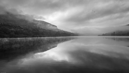 Misty Morning, Talybont Reservoir