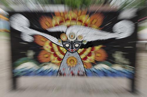 Mural en el Parque Avellaneda