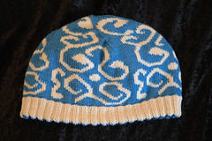 IMG_0917_1 (tinksdarkerside) Tags: wollmeise cheesehead project ravelry knitting doubleknitting hat