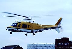 G-HWBK Agusta A109A (SPRedSteve) Tags: battersea westland heliport helicopter ghwbk a109 a109a agusta chopper london 7173