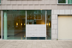 Post Boxes - I (photosam) Tags: amsterdam noordholland netherlands fujifilm xe1 fujifilmx prime raw lightroom xf35mm114r xf35mmf14r urban architecture detail modern modernist