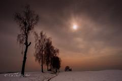 Amtzell Kapellenberg (CaTheMo Art) Tags: amtzell sonnenlicht allee kapelle winter schnee naure naturaufnahme