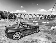 BMW Z4 St Germans Cornwall (Jon Sharp) Tags: bmw z4 st germans cornwall soft top viaduct