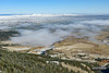 Late Morning Fog (kevin-palmer) Tags: bighornmountains bighornnationalforest wyoming dayton highway14 nikond750 tamron2470mmf28 fall autumn october snow snowfall snowy cold morning clear sunny fog foggy pine trees sandturn scenic overlook switchbacks