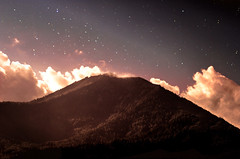 Diary Series: Between Darkness And Light (Carina Aurora in Wonderland) Tags: mountain nature silence night nightsky sky nightshot canon wanderlust explore hopes dreams love adventures clouds cloudy stars galaxy woods forest