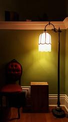 Casa Grande. ([Gaston].) Tags: seattle washington thrifting antiques lamp architecture interior chair