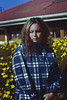 Yellow Flowers (TheJennire) Tags: photography fotografia foto photo canon camera camara colours colores cores light luz young tumblr indie teen plaid curlyhair winter cold flowers yellowflowers chile islanegra self people lifestyle tirp travel 2016 vacation
