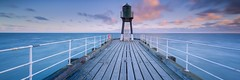 De-Railed (David Speight) Tags: yorkshire coast coastal canon whitby pier long exposure lee filters sunrise colourful clouds cloud