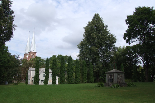 Place of the old Pabiržė church, 10.08.2013.
